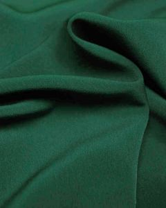 Luxury Crepe Fabric - Bottle Green