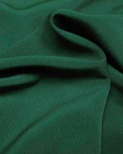 REMNANT Bottle Green Luxury Crepe Fabric - 150cm x 148cm
