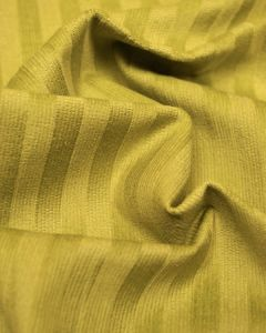 Stretch Needlecord Stripe Fabric - Chartreuse