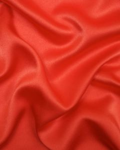 Liquid Satin Fabric - Coral