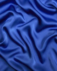Liquid Satin Fabric - Royal Blue
