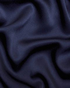 Liquid Satin Fabric - Navy
