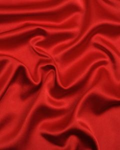 Liquid Satin Fabric - Red