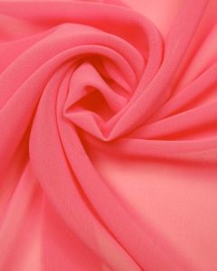 Luxury Polyester Georgette Fabric - Candy Pink