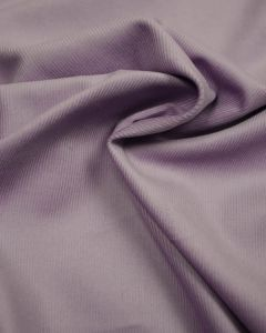 Cotton Baby Cord Fabric - Lilac