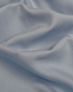 REMNANT - Powder Blue Chambray Fabric - 120cm x 150cm