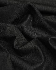 Cotton Chambray Fabric - Black