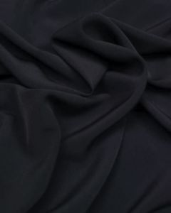 Luxury Crepe Fabric - Navy Blue