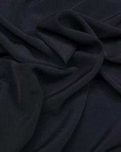 Luxury Crepe Fabric - Navy Blue