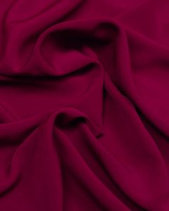 Luxury Crepe Fabric - Foxglove