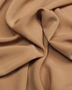 Luxury Crepe Fabric - Chai