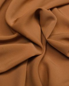 Luxury Crepe Fabric - Caramel