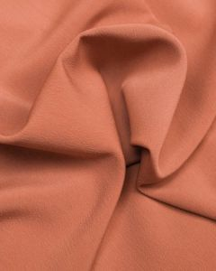 Luxury Crepe Fabric - Pastel Terracotta