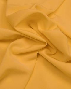 Luxury Crepe Fabric - Yellow