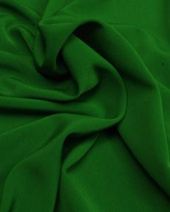 Luxury Crepe Fabric - Emerald Green