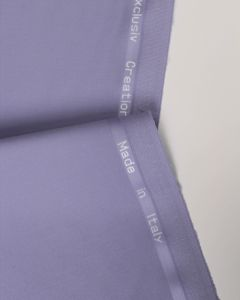 Ex Designer - Italian Wool Blend Suiting Fabric - Lilac