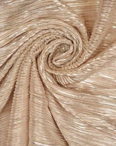 Polyester Pleat Knit Fabric - Shell Shimmer