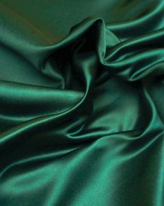 Polyester Duchesse Satin Fabric - Forest Green