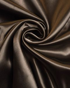 Stretch Crepe Backed Satin Fabric - Mushroom