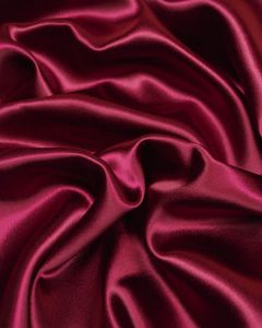 Stretch Crepe Backed Satin Fabric - Foxglove