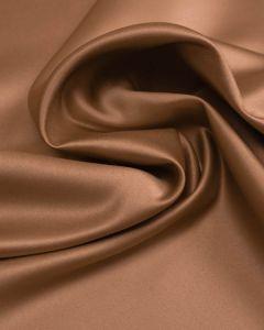 Polyester Duchesse Satin Fabric - Mocha