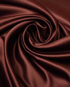 Polyester Duchesse Satin Fabric - Claret