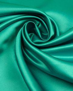 Polyester Duchesse Satin Fabric - Aqua
