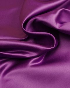 Polyester Duchesse Satin Fabric - Amethyst