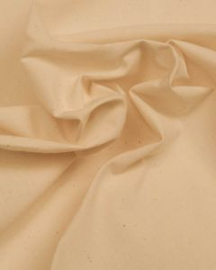 Medium Weight Cotton Calico Fabric - Natural