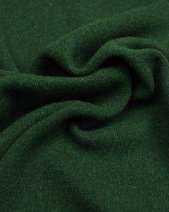 Wool & Cotton Blend Jersey Fabric - Green