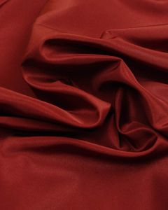 Polyester Taffeta Fabric - Crimson Red