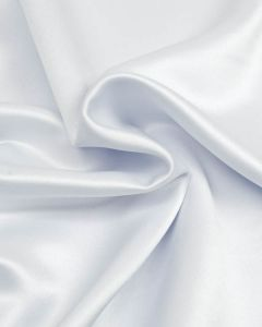 Polyester Satin Fabric - Pale Blue