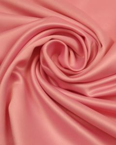 Polyester Satin Fabric - Candy Pink