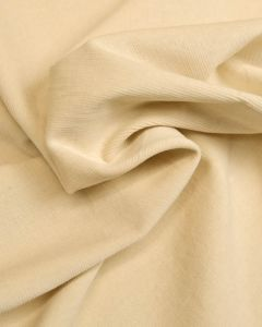 Stretch Needlecord Fabric - Cream