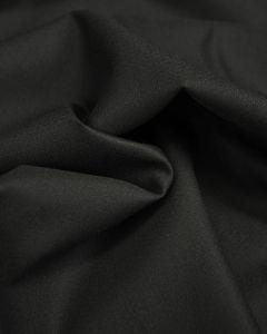 Lightweight Wool Suiting Fabric - Black