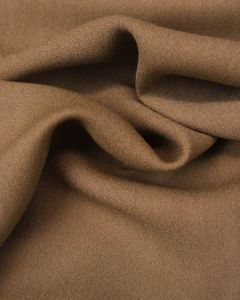 Viscose Crepe Fabric - Coffee
