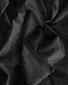 Stretch Baby Cord Fabric - Charcoal
