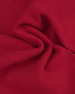 Super Soft Mouflon Coating Fabric - Bright Red