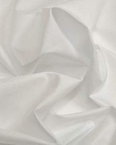 Cotton & Polyester Blend Fabric - White