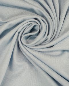 Viscose Crepe Jersey Fabric - Pale Blue