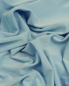 Polyester Jersey Fabric - Light Blue