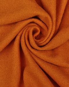 Wool & Viscose Jersey Fabric - Orange