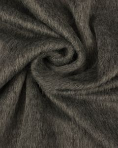 Faux Fur Fabric - Grey