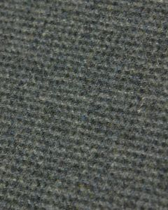 Wool Check Fabric - Green & Grey