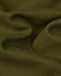 Wool Suiting Fabric - Olive Green