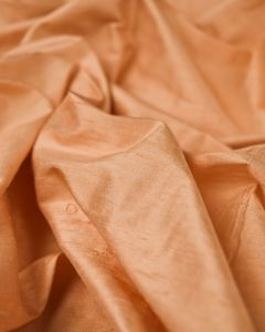 Indian Silk Dupion Fabric - Apricot