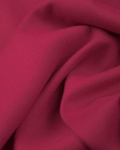 Viscose Crepe Fabric - Cerise