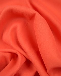 Viscose Crepe Fabric - Coral