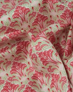 Cotton Lawn Fabric - Vintage Snowdrops Pink