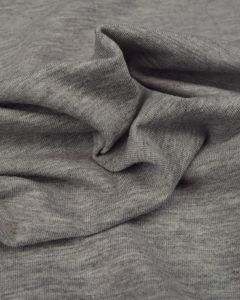 Cotton Jersey Fabric - Grey Marl